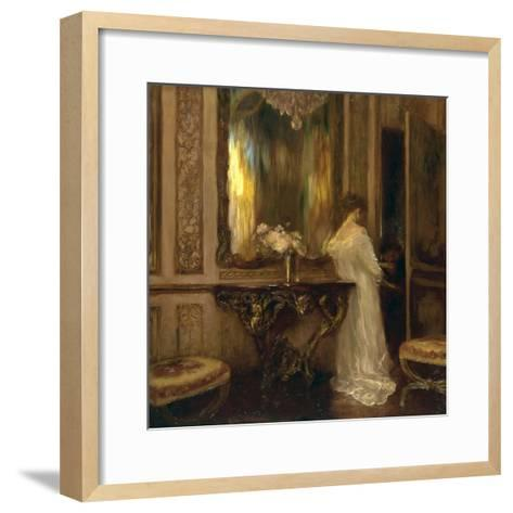 Le Pretendant-Gaston De Latouche-Framed Art Print