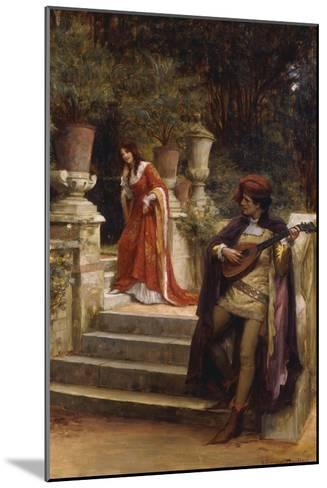 The Minstrel's Lay-George Sheridan Knowles-Mounted Giclee Print