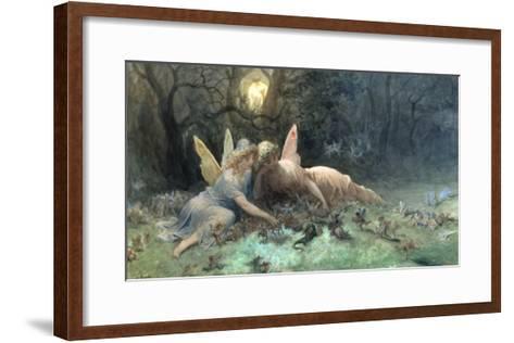 Les Fees (Scene Tiree de Shakespeare), 1873-Gustave Dor?-Framed Art Print