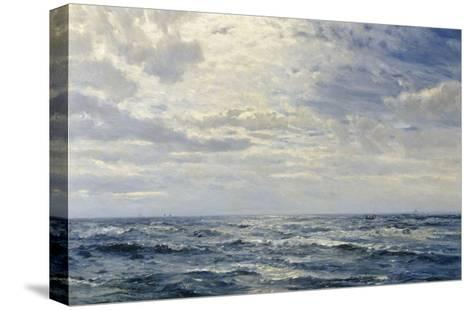 Off the Coast of Cornwall-Henry Moore-Stretched Canvas Print