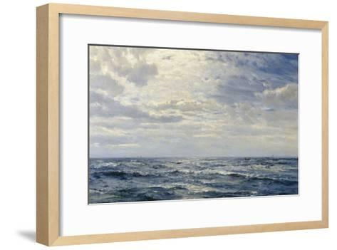 Off the Coast of Cornwall-Henry Moore-Framed Art Print