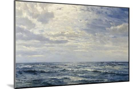 Off the Coast of Cornwall-Henry Moore-Mounted Giclee Print