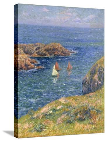 Ouessant, Jour de Calme, 1905-Henry Moret-Stretched Canvas Print