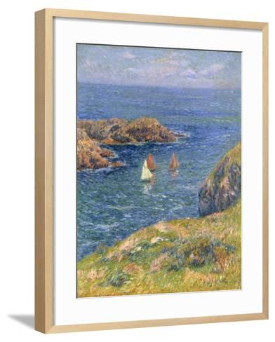 Ouessant, Jour de Calme, 1905-Henry Moret-Framed Art Print