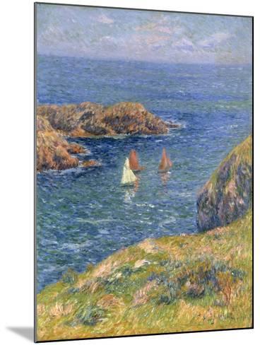 Ouessant, Jour de Calme, 1905-Henry Moret-Mounted Giclee Print