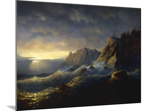 Survivors from a Shipwreck, 1846-Ivan Konstantinovich Aivazovsky-Mounted Giclee Print