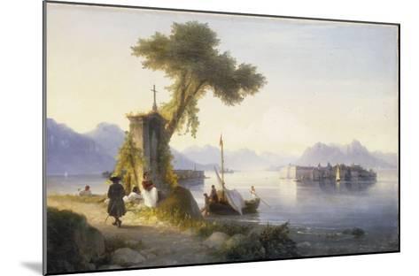 The Isola Bella on Lago Maggiore, 1843-Ivan Konstantinovich Aivazovsky-Mounted Giclee Print