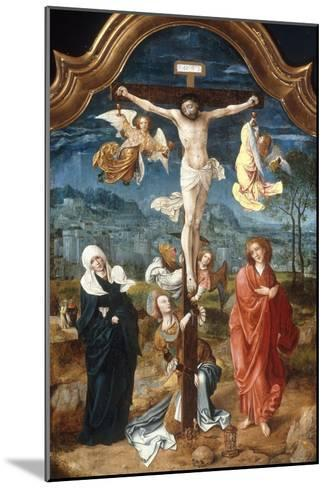 The Crucifixion-Jan De Beer-Mounted Giclee Print