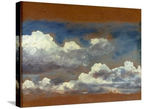 Cloud Study-John Constable-Stretched Canvas Print