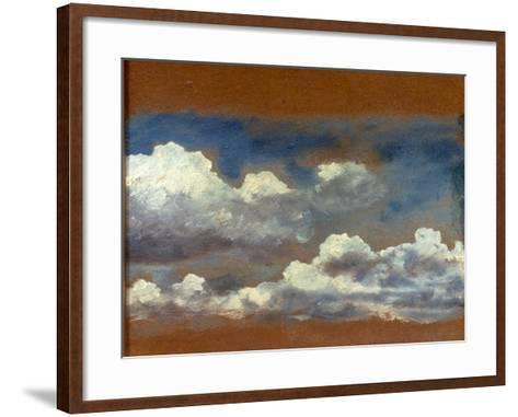 Cloud Study-John Constable-Framed Art Print