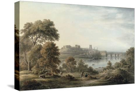 View of Chester-John Glover-Stretched Canvas Print