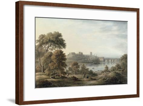 View of Chester-John Glover-Framed Art Print