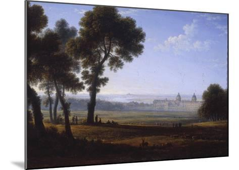 Greenwich Looking Towards the Thames-John Glover-Mounted Giclee Print