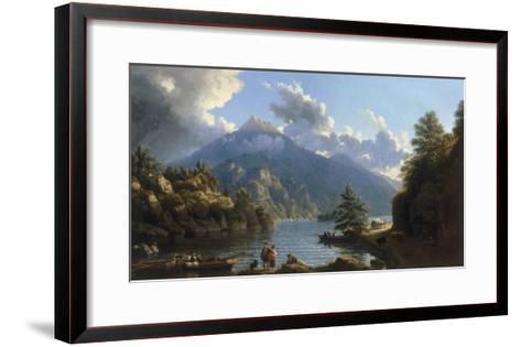 On the Shores of Loch Katrine-John Knox-Framed Art Print