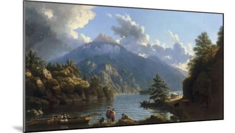 On the Shores of Loch Katrine-John Knox-Mounted Giclee Print