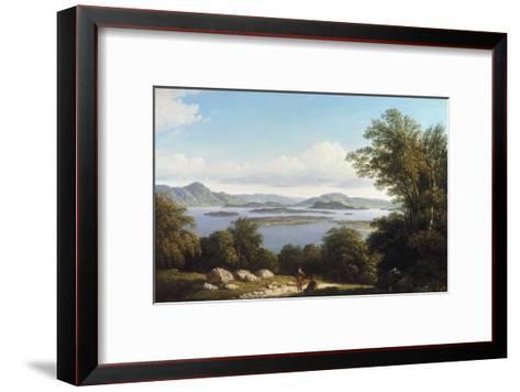 Loch Lomond-John Knox-Framed Art Print