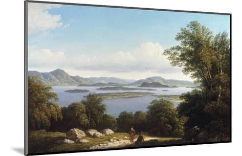 Loch Lomond-John Knox-Mounted Giclee Print