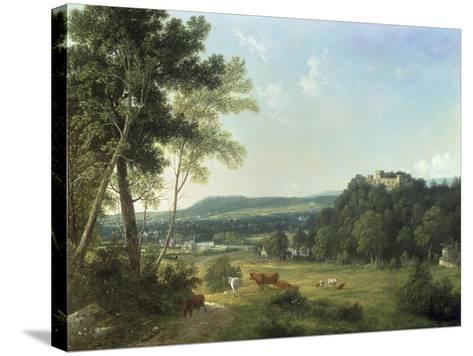 Lismore Castle, Ireland-John Knox-Stretched Canvas Print