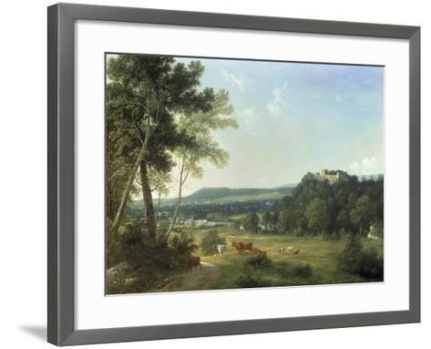 Lismore Castle, Ireland-John Knox-Framed Art Print