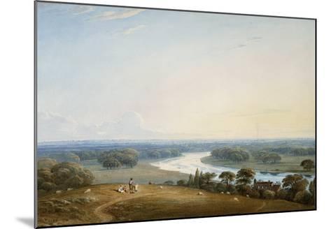 Richmond Hill, Surrey, 1834-John Varley-Mounted Giclee Print