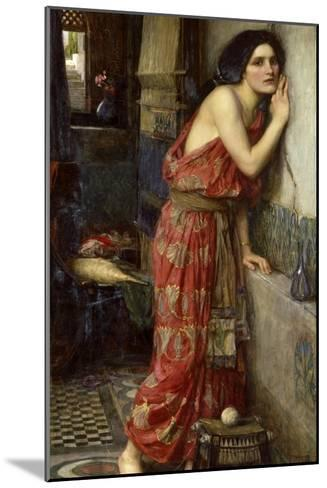 Thisbe' or 'The Listener', 1909-John William Waterhouse-Mounted Giclee Print