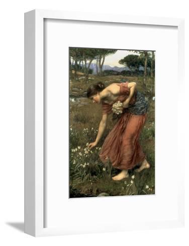 Narcissus, 1912-John William Waterhouse-Framed Art Print