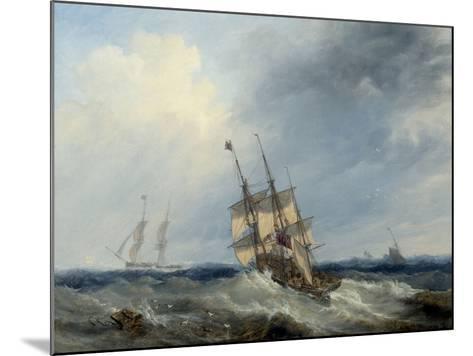 A Blustery Day, 1844-John Wilson Carmichael-Mounted Giclee Print