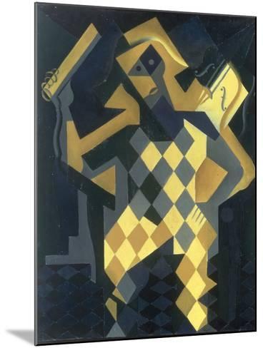 L'Arlequin au Violon, 1919-Juan Gris-Mounted Giclee Print