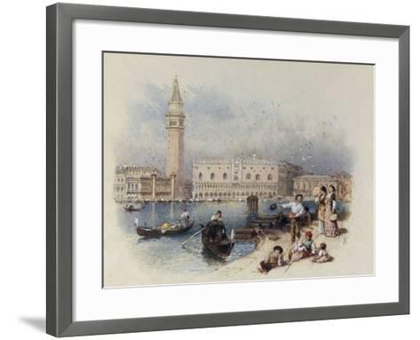 Doges Palace, Venice-Myles Birket Foster-Framed Art Print