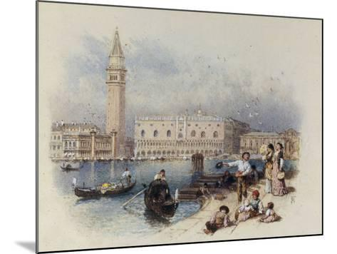 Doges Palace, Venice-Myles Birket Foster-Mounted Giclee Print