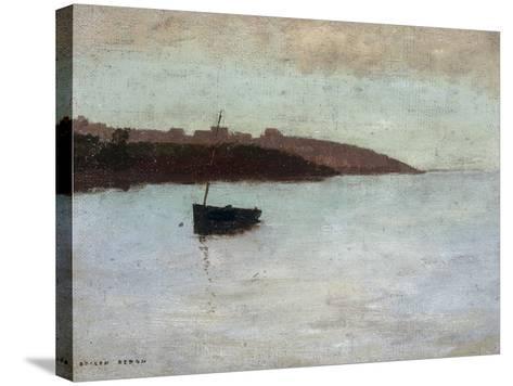 Barque De Pecheur, c.1875-1880-Odilon Redon-Stretched Canvas Print