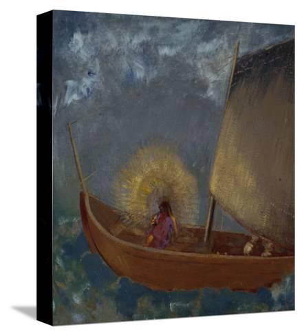 La Barque Mystique, c.1897-Odilon Redon-Stretched Canvas Print