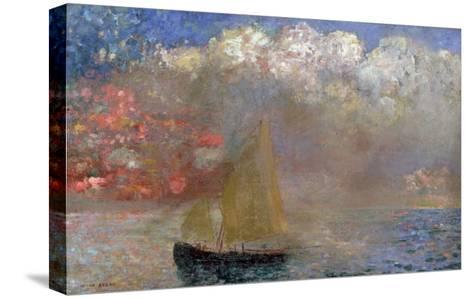 Le Voilier, 1900-Odilon Redon-Stretched Canvas Print