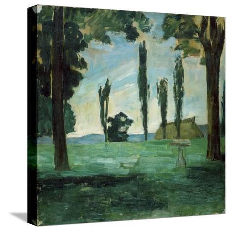 Paysage-Paul C?zanne-Stretched Canvas Print