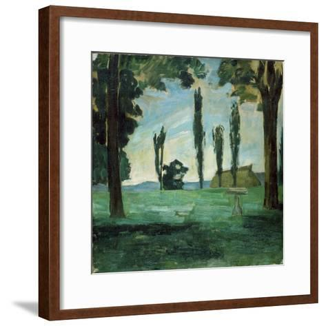 Paysage-Paul C?zanne-Framed Art Print