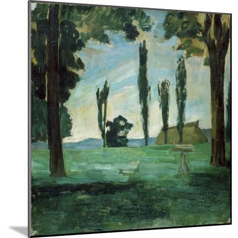 Paysage-Paul C?zanne-Mounted Giclee Print