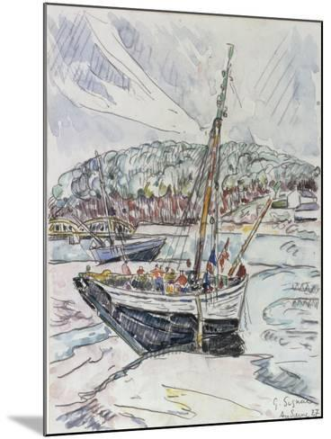 Audierne, 1927-Paul Signac-Mounted Giclee Print