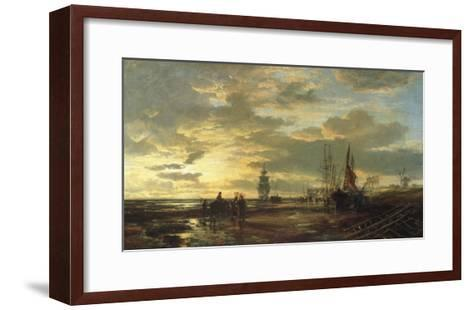 Low Tide, 1858-Samuel Bough-Framed Art Print