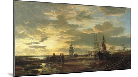 Low Tide, 1858-Samuel Bough-Mounted Giclee Print