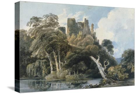 Berry Pomeroy Castle, Devon, c.1797-Thomas Girtin-Stretched Canvas Print