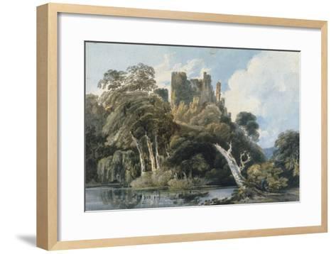 Berry Pomeroy Castle, Devon, c.1797-Thomas Girtin-Framed Art Print