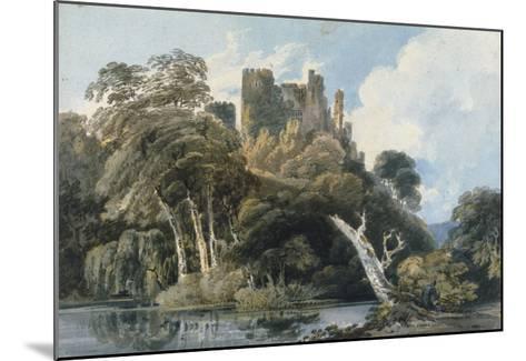 Berry Pomeroy Castle, Devon, c.1797-Thomas Girtin-Mounted Giclee Print