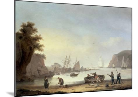Teignmouth and the Ness, Devon, 1825-Thomas Luny-Mounted Giclee Print