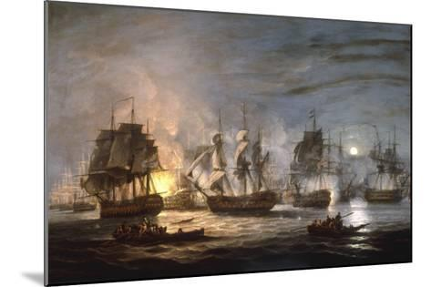 The Battle of the Nile, August 1st 1798, 1830-Thomas Luny-Mounted Giclee Print