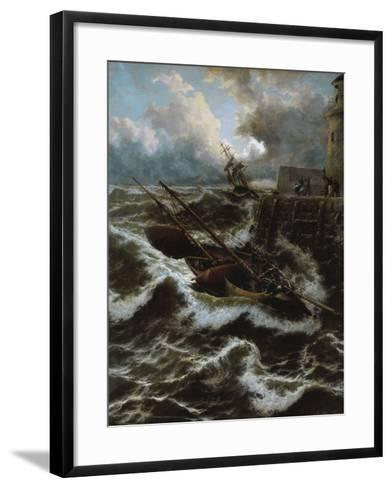 After a Stormy Night-Thomas Rose Miles-Framed Art Print