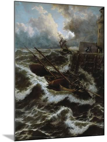 After a Stormy Night-Thomas Rose Miles-Mounted Giclee Print