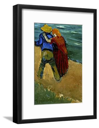 Eglogue En Provence - Un Couple D'Amoureux, 1888-Vincent van Gogh-Framed Art Print