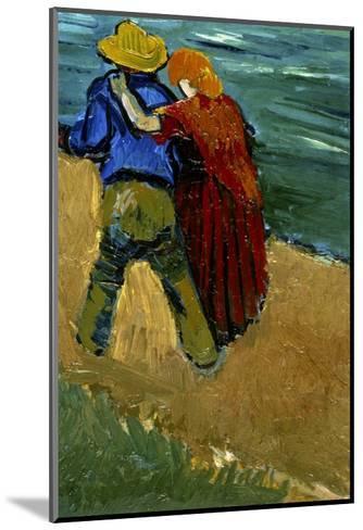Eglogue En Provence - Un Couple D'Amoureux, 1888-Vincent van Gogh-Mounted Giclee Print