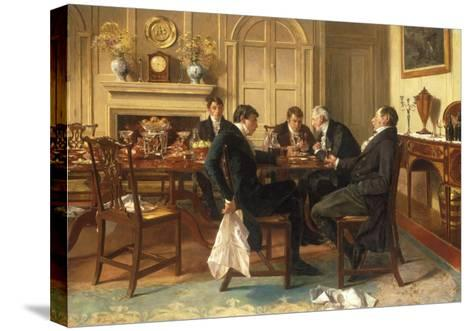 The Cellar's Best-Walter Dendy Sadler-Stretched Canvas Print