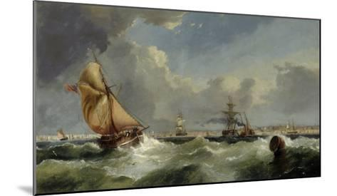 A Breezy Evening on the Mersey-William Callow-Mounted Giclee Print